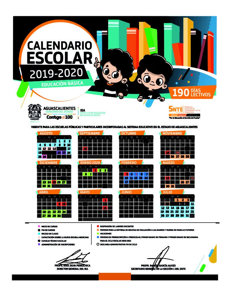 Calendario De Hacienda 2020.Estos Son Los Calendarios Escolares 2019 2020 Para
